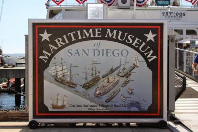 Морской музей Сан-Диего.Флот музея