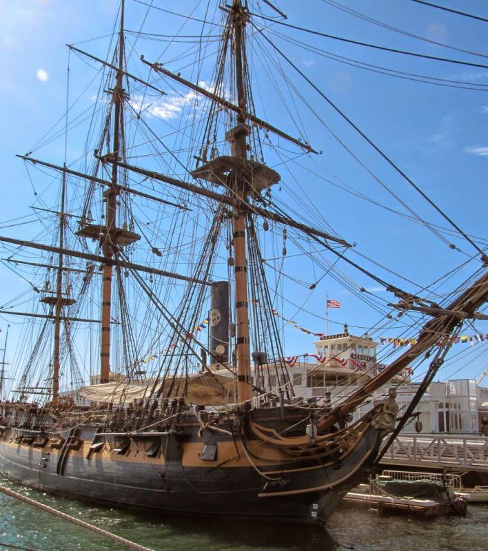 Морской музей Сан-Диего. HMS Surprise