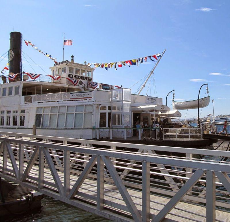 Морской музей Сан-Диего. Паром Беркли
