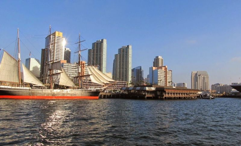 Морской музей Сан-Диего. Звезда Индии (Star of India)