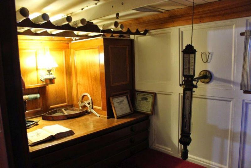 Морской музей Сан-Диего. Звезда Индии (Star of India). Измерительные приборы