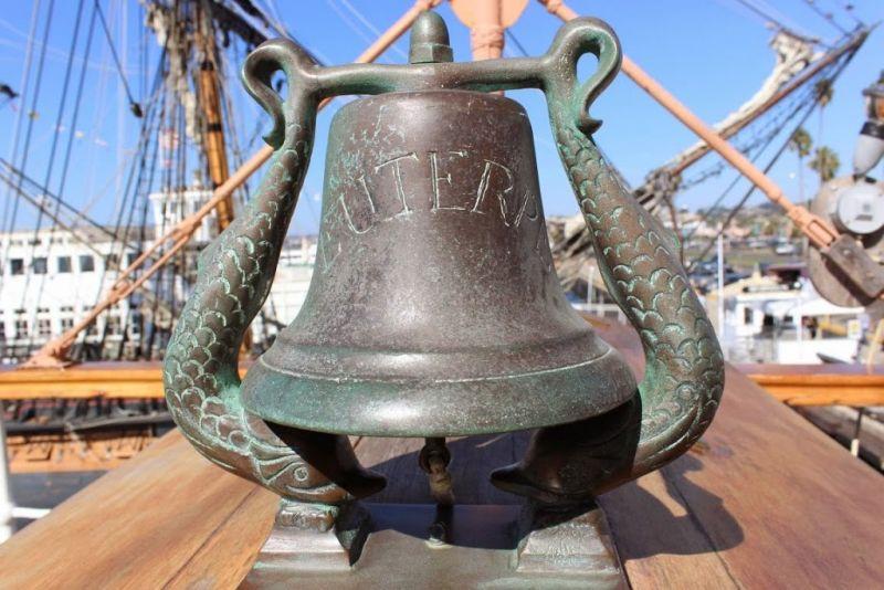 Морской музей Сан-Диего. Звезда Индии (Star of India).Колокол