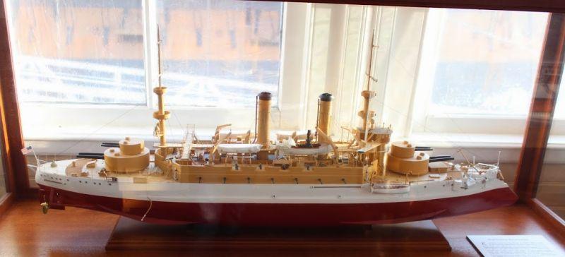 Морской музей Сан-Диего. Паром Беркли. Экспонаты музея