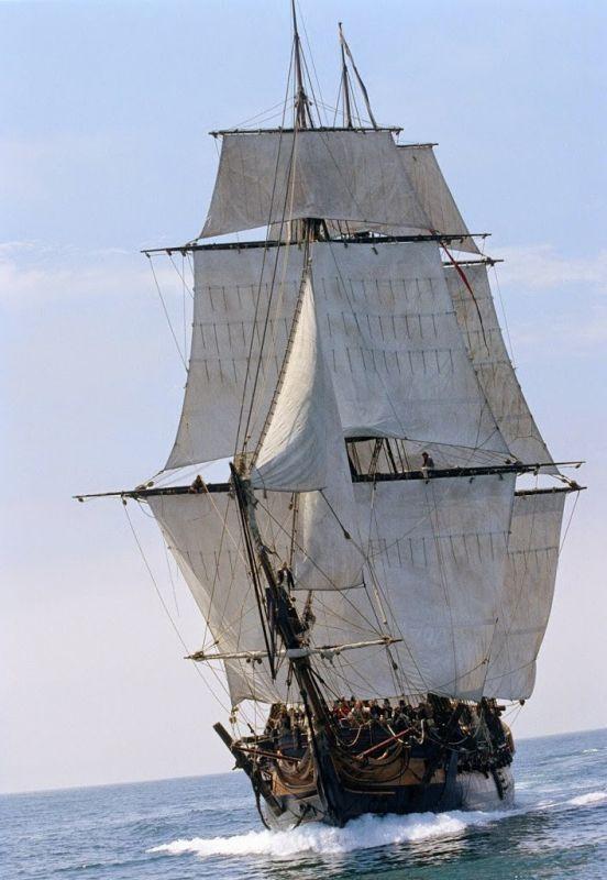 Морской музей Сан-Диего. HMS Surprise в фильме Хозяин морей