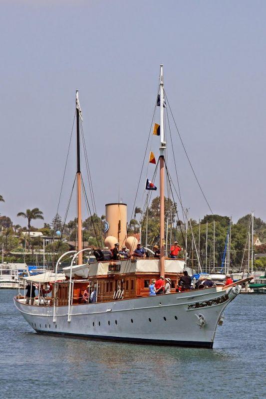 Морской музей Сан-Диего. Яхта Медея (Medea)