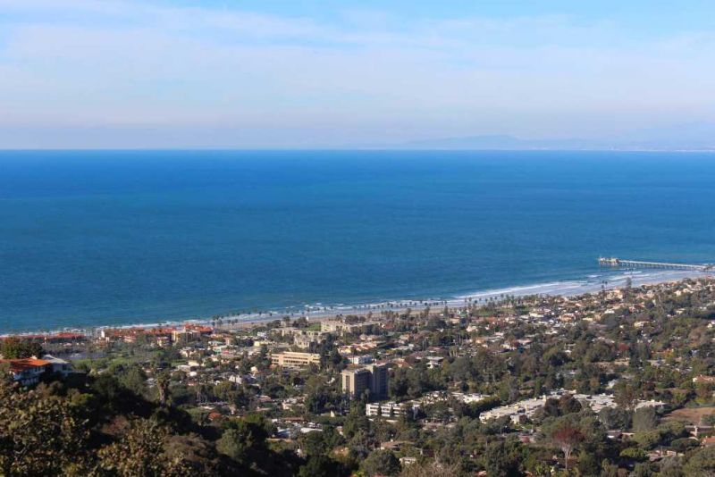 Ла-Хойя (La Jolla) Вид горы Соледад