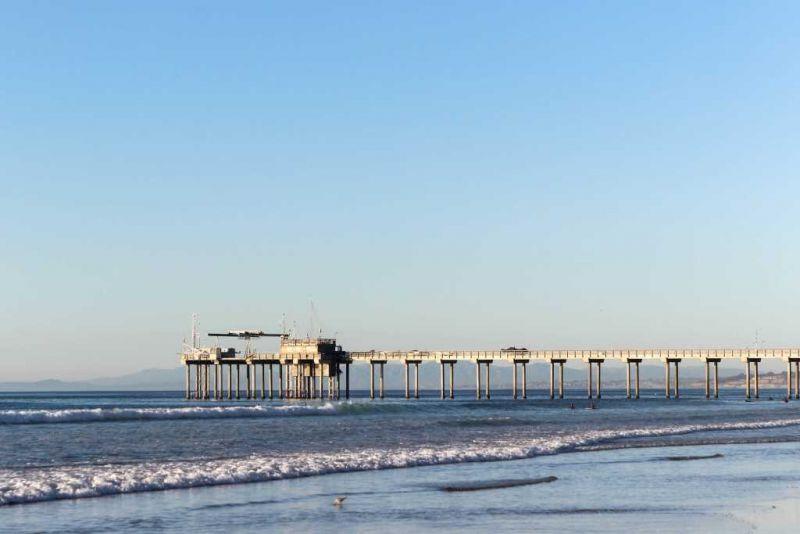Ла-Хойя (La Jolla) La Jolla Shores. Пирс Scripps