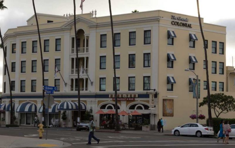 Ла-Хойя (La Jolla). Отель The Grand Colonial