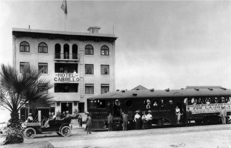 Ла-Хойя (La Jolla). Отель Cabrillo в 1909 году