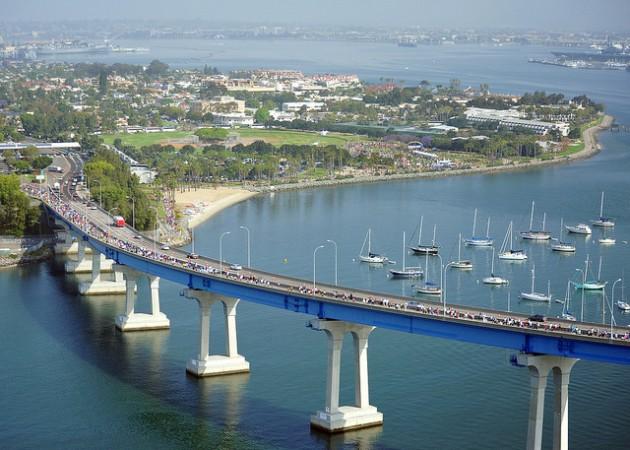 Ежегодный забег по мосту Коронадо - Сан-Диего