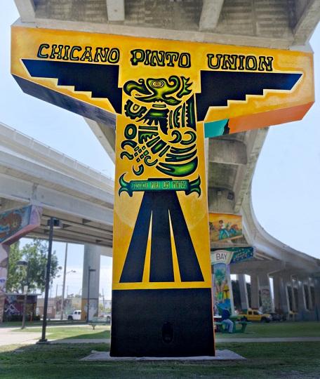 Опора моста Сан-Диего - Коронадо. Chicano Парк