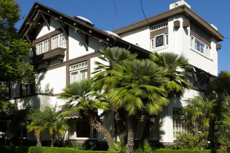 Коронадо (Coronado). Старые известные дома