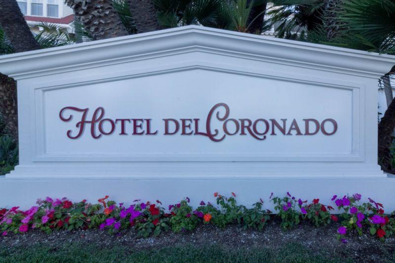 Коронадо. Hotel del Coronado