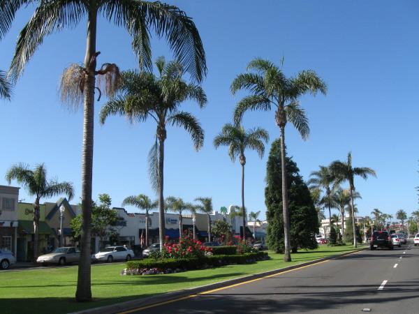 Коронадо (Coronado). Orange avenue