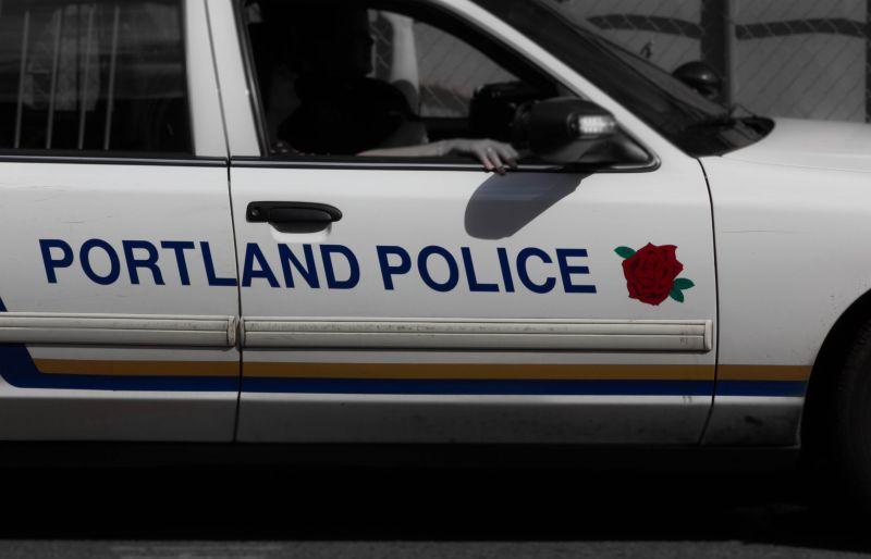 Портлендская полиция всегда на посту