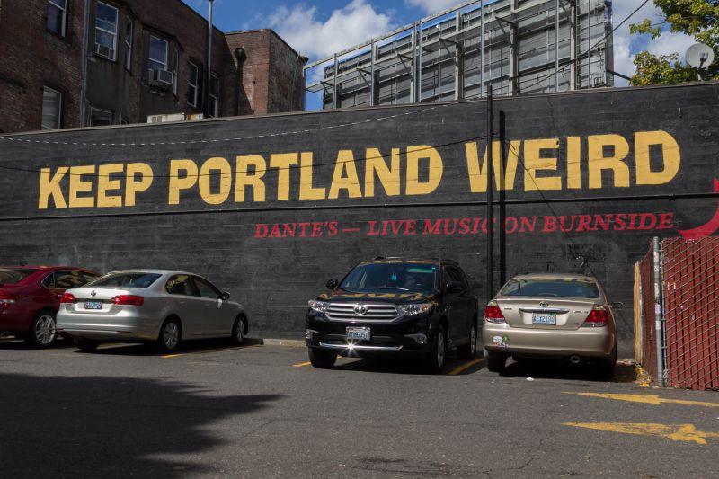 Портленд - странный город