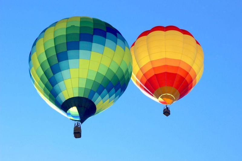 Воздушные шары в винной долине Темекула