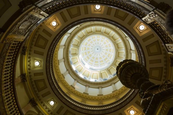 Денвер. Капитолий потолок купола