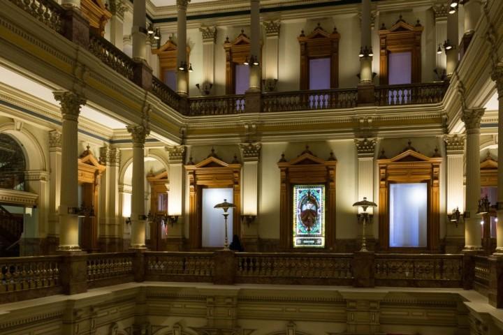 Денвер. Внутри Капитолия. Второй этаж