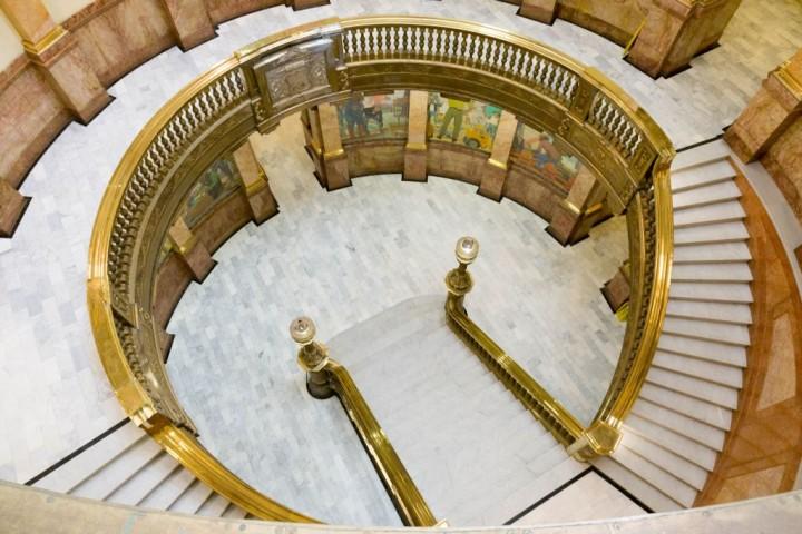 Денвер. Капитолий. Круглый зал с фресками