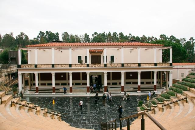 Санта-Моника Достопримечательности Летний театр виллы Гетти (Getty Villa)