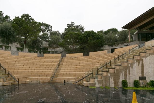 Лос-Анджелес Достопримечательности Вилла Гетти (Getty Villa) Летний театр