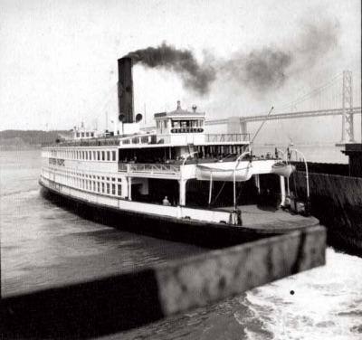 Морской музей Сан-Диего. Паром Беркли в 1906 году