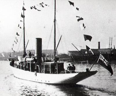 Морской музей Сан-Диего. Яхта Медея (Medea) в 1930 году