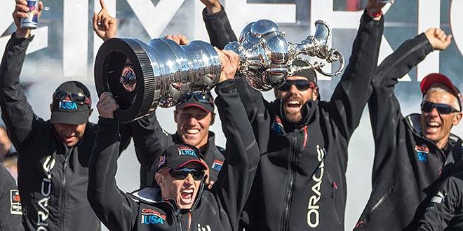 Oracle Team USA - последний победитель Кубка Америки