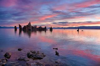 Калифорния. Mono Lake на рассвете