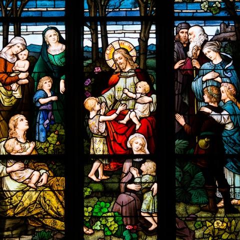 Денвер. Витражи Кафедрального собора Непорочного зачатия (Cathedral of the Immaculate Conception)