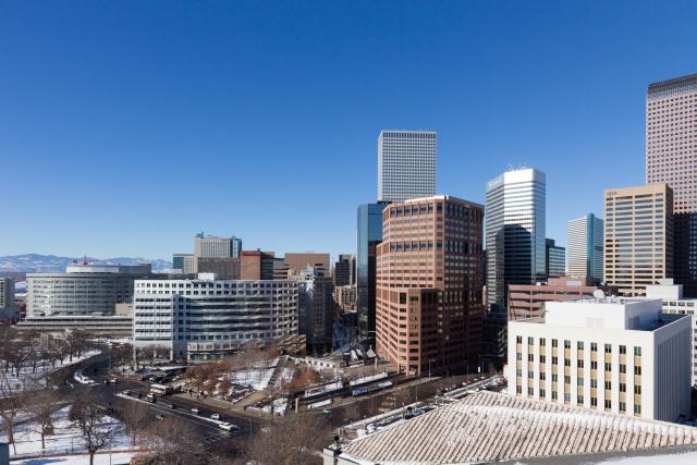 Колорадо. Денвер. The Denver Post Building