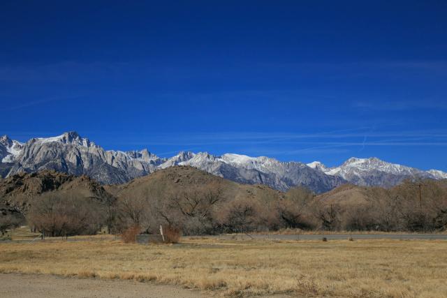 US-395. Калифорния. Сьерра-Невада (Sierra Nevada)