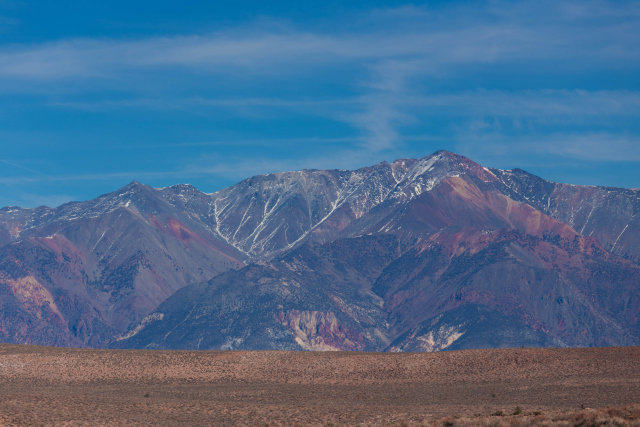 Калифорния. US-395. Белые горы (White Mountains)