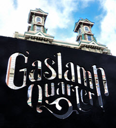 Газлэмп. Сан-Диего. Gaslamp Quarter. San Diego (photo made by Eric Duquenoy)