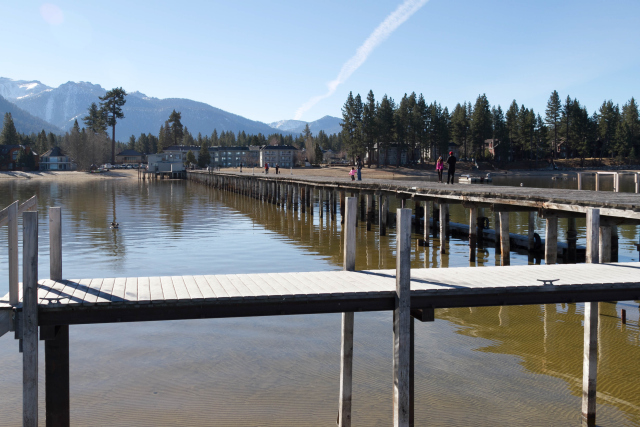 Пирс на озере Тахо (Lake Tahoe Pier)