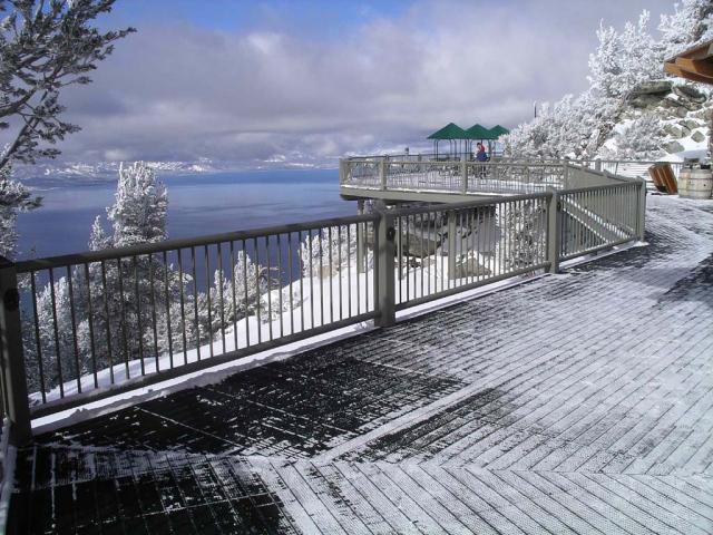 Озеро Тахо. Смотровая площадка на Heavenly