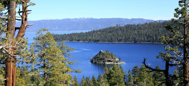 Озеро Тахо. На берегах Изумрудной бухты (Emerald bay)