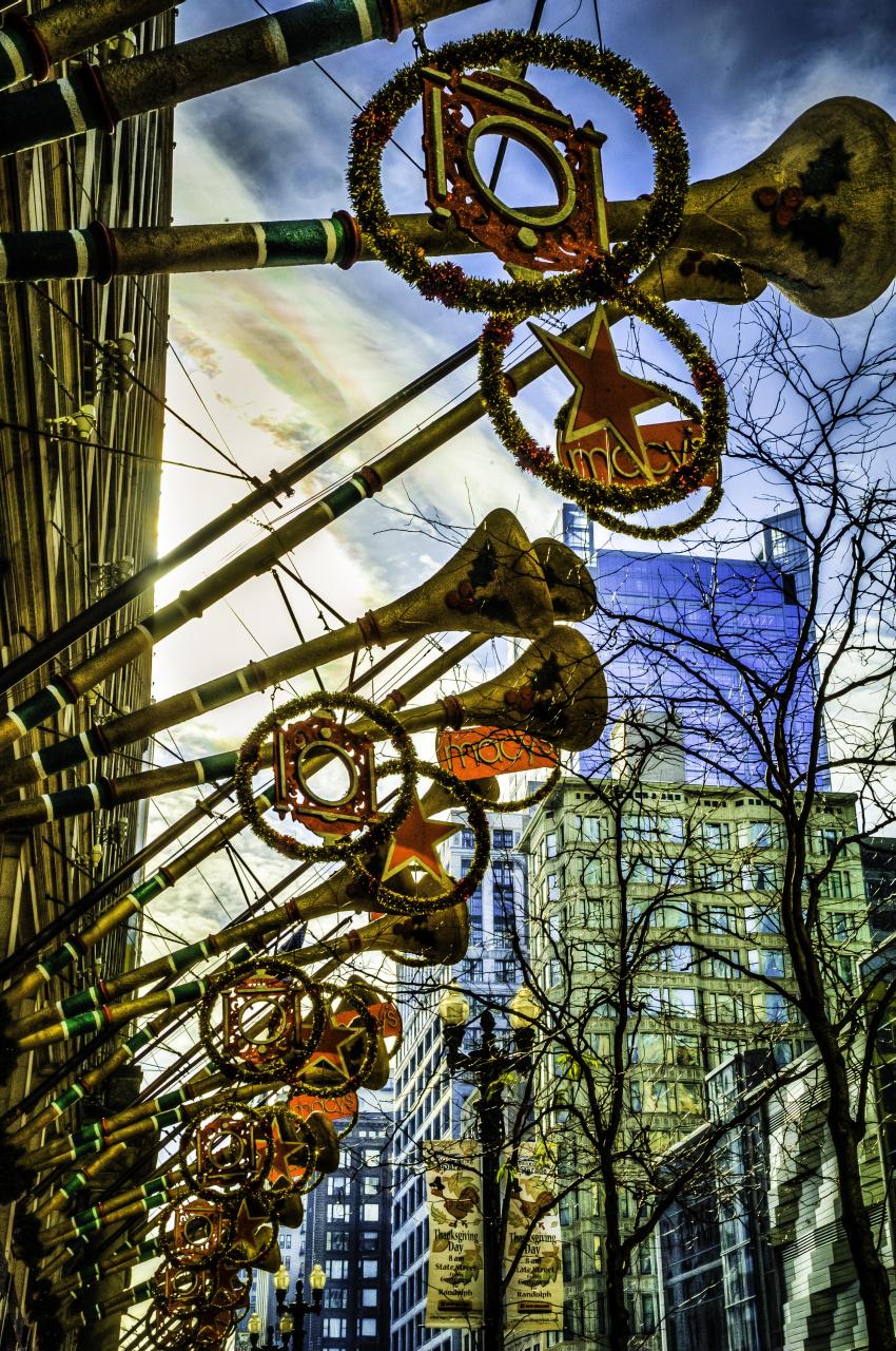 Чикаго Macy's Рождество