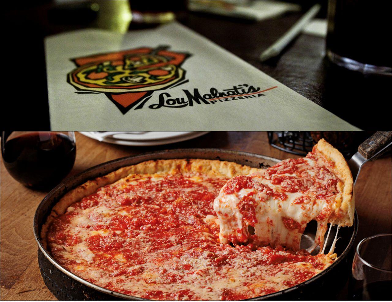Chicago style pizza Lou malnatis Чикагская пицца Дип диш