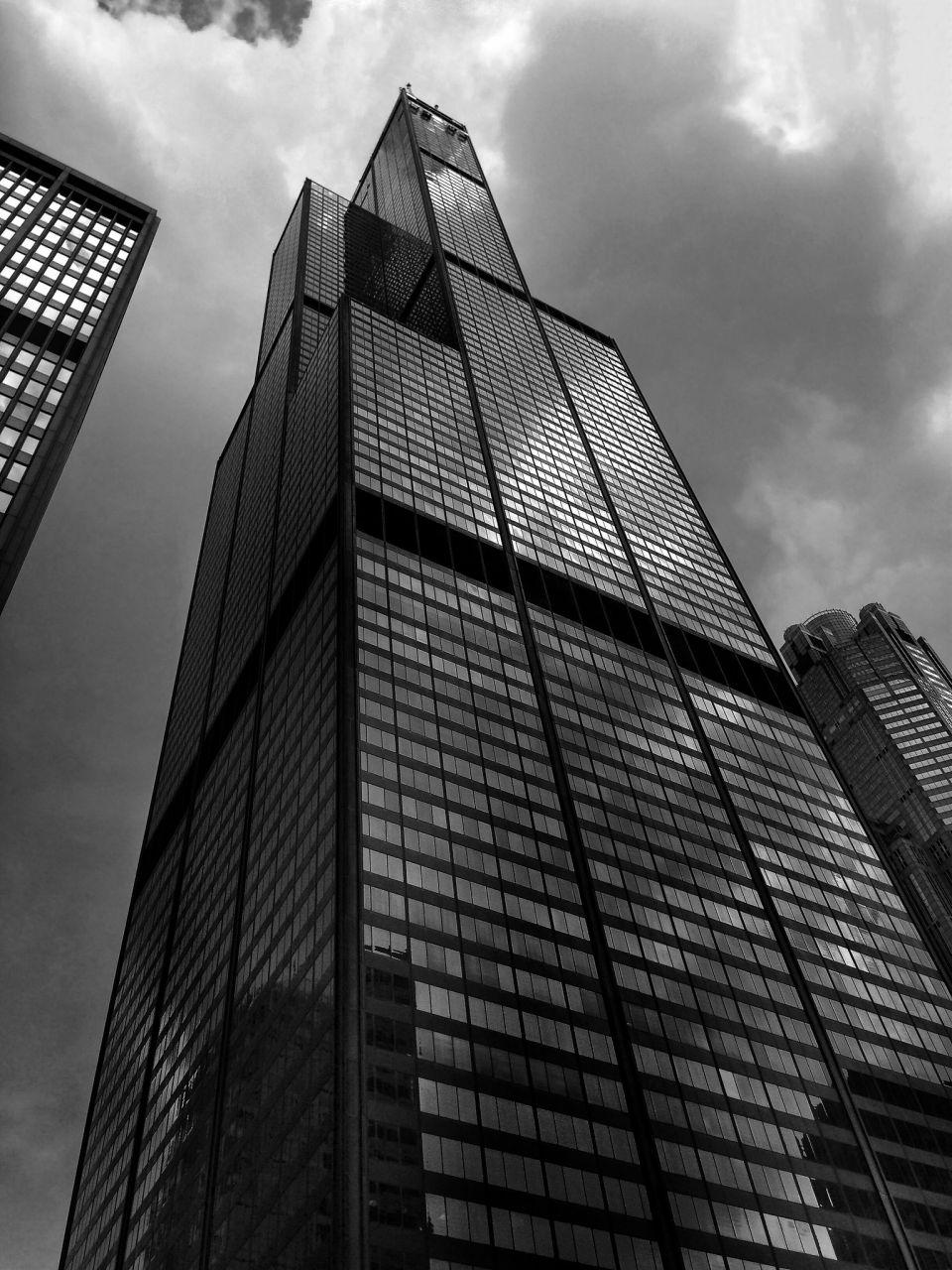 Chicago Willis Tower. Чикаго Уиллис Тауэр
