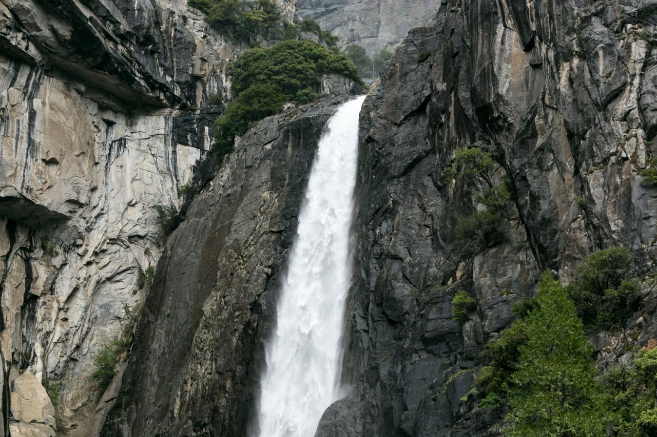 Йосемити парк. Yosemite Park. Водопад Йосемити