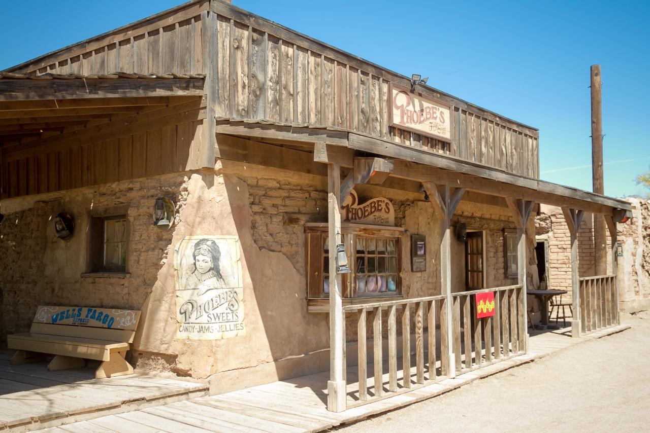 Аризона Тусон Киностудия Old Tucson