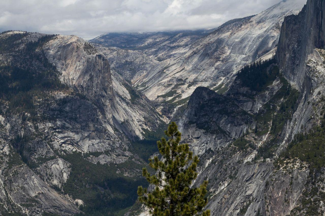 Йосемити парк. Каньон Tenaya