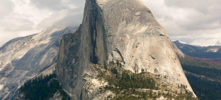 Парк Йосемити. Вид с высоты птичьего полета