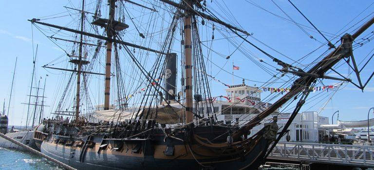 Морской музей Сан-Диего. HMS Surprise – грозный хозяин морей