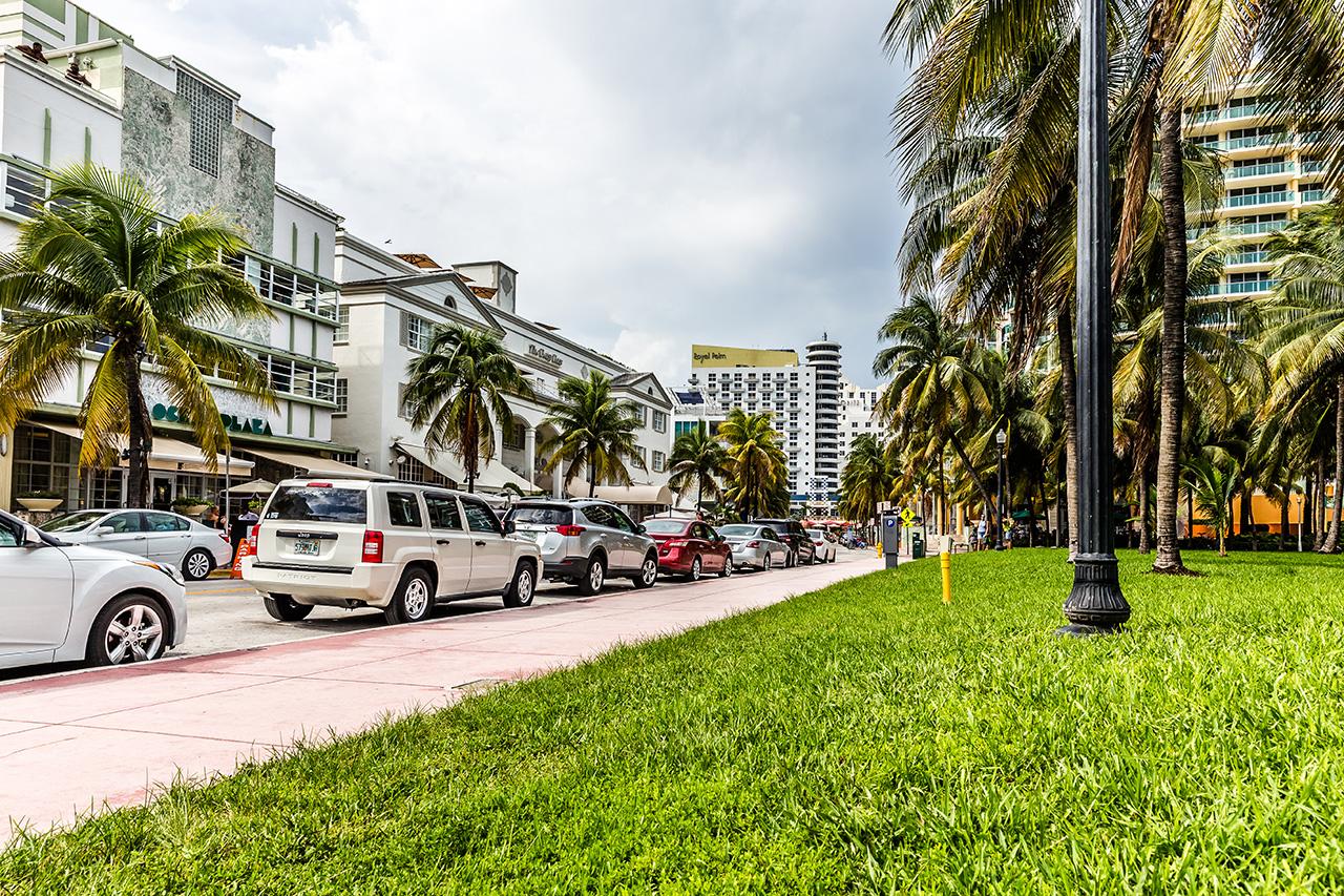 Майами Бич. Oceean Drive