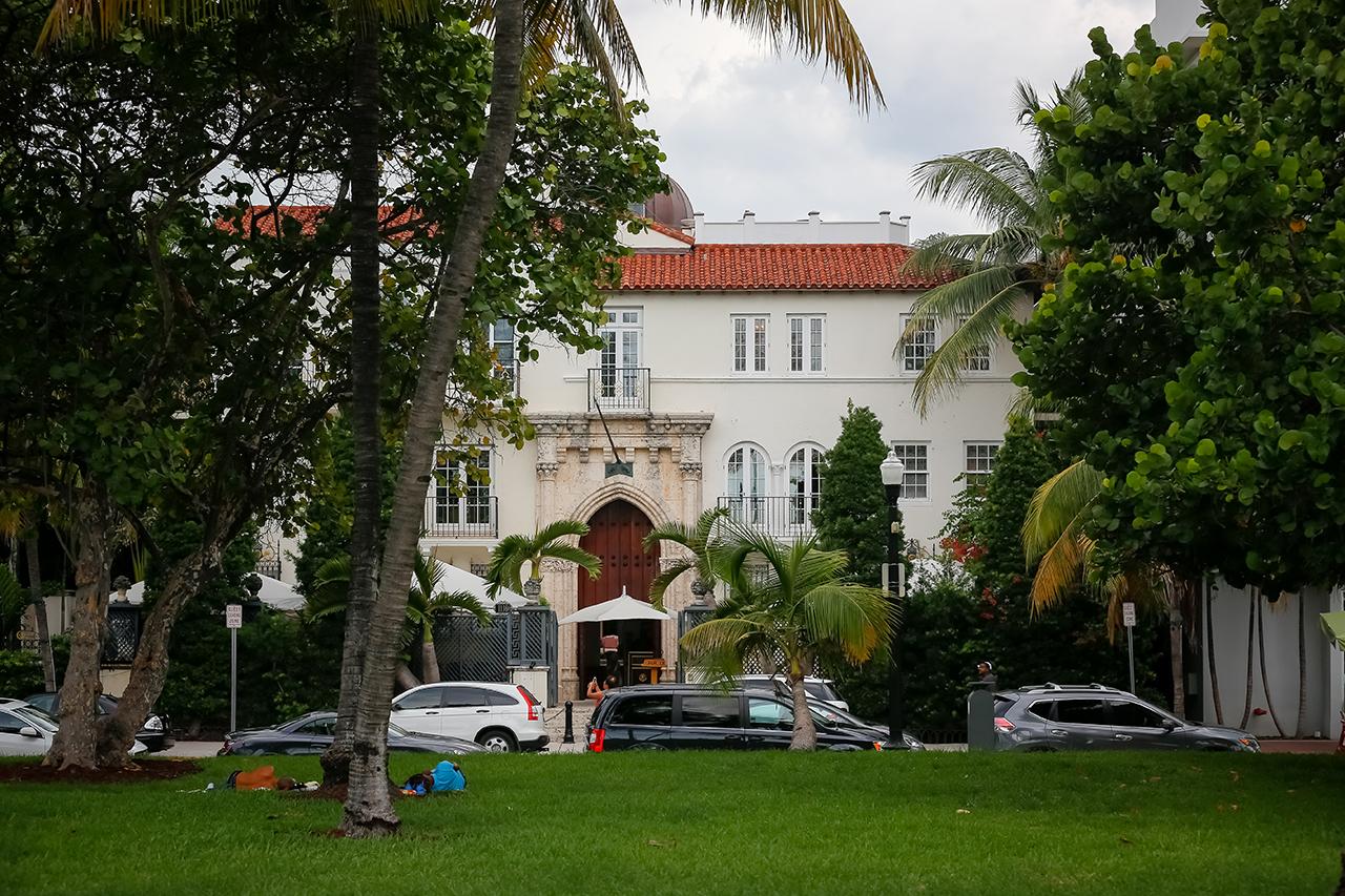 Майами-Бич. Особняк Версаче