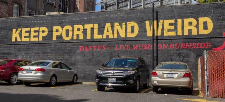 Портленд – странный город