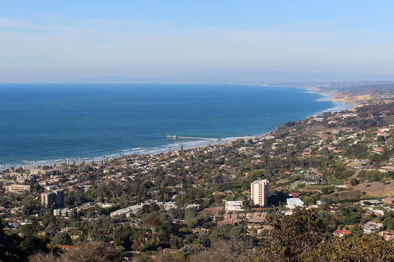 Побережье Сан-Диего La Jolla
